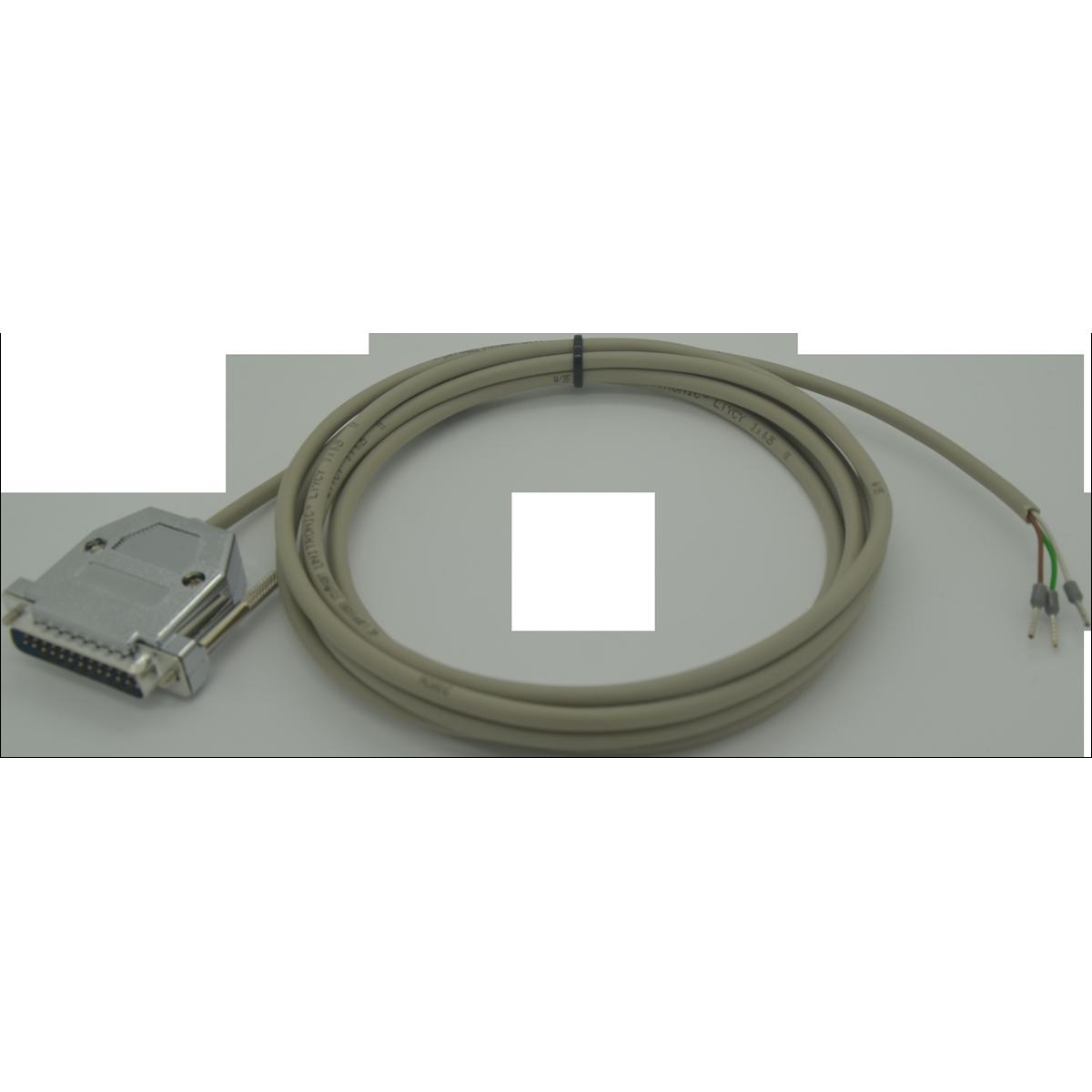 Printer Cable DB25 Male, 3 meter