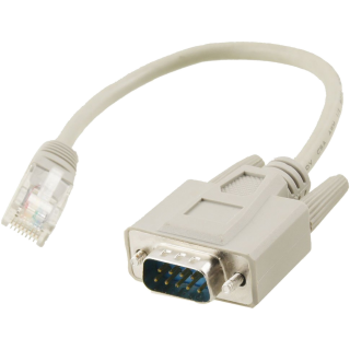 DB9 Male to RJ45 Adapter Cable
