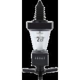 2 cl. non-drip skænkeprop med tæller