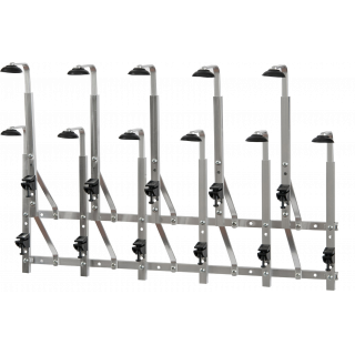 11 Bottle Staggered Wall Bar – 70cl Bottles