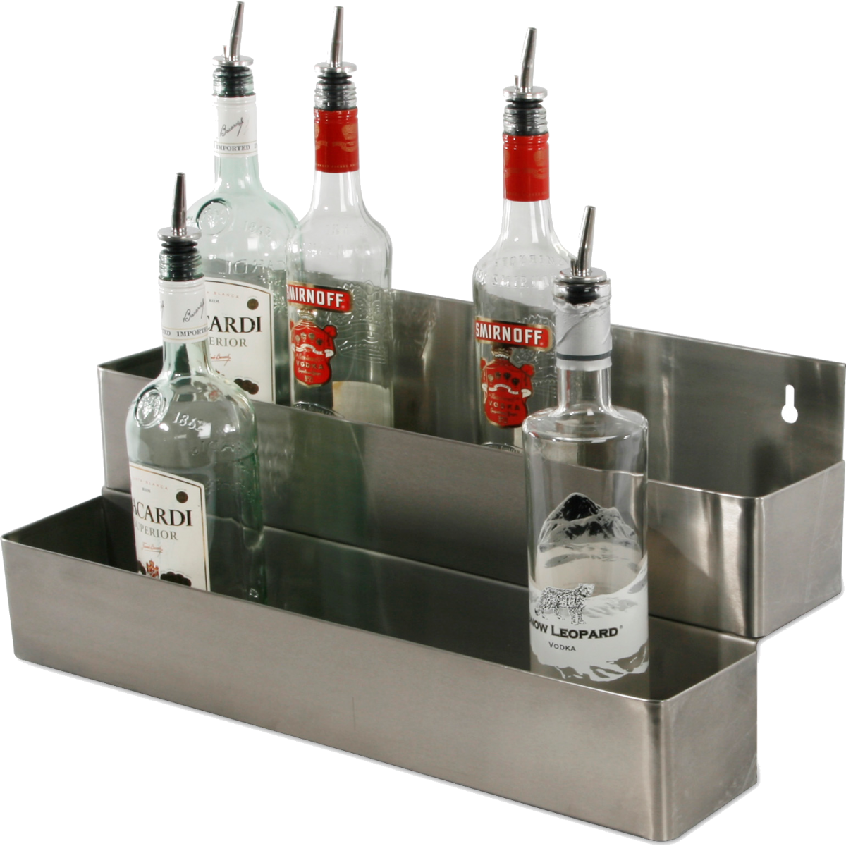 Speed Rack dobbelt til 2 x 5 flasker